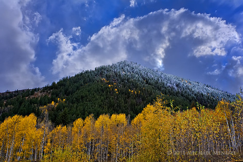 autumn winter snow storm mountains fall nature clouds skyscape rockies nikon triangle colorado frost seasons pyramid hoarfrost snowstorm windy stormy alpine co rockymountains manual aspen hdr cloudscape snowmass exposureblending clff d700