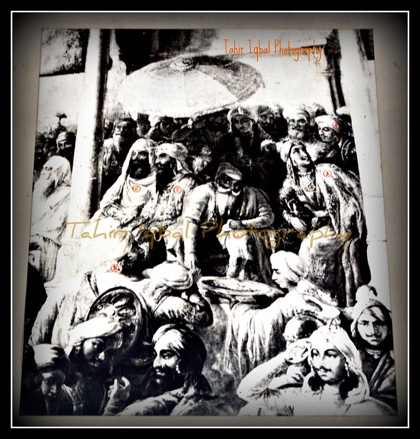 Lahore Sikh Darbar (Maharaja Ranjit Singh Period) (From Original Picture)