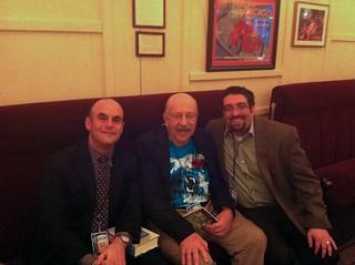 Peter Sagal, Gene Wolfe, Mike Morrow | by morrowplanet
