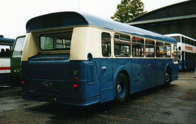 40, GEX 740F, Leyland Atlantean (3) (rear)