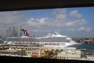 New ship outside of my office