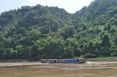 En barca pel riu Mekong