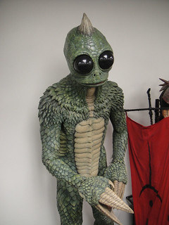 The Prop Store of London - LA - Sleestak from Land of the Lost movie | by Doug Kline