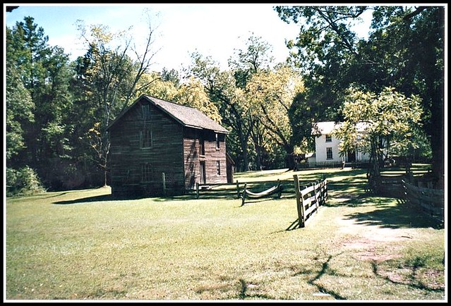 Duke Homestead & Tobacco Museum ~ Durham NC Various buildings~ [My Film 90's]