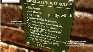 McDonalds House Rules | by polledemaagt