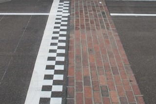 "The ""Brickyard"" Indianapolis raceway 
