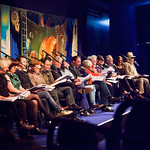 Fleck | The entire cast of Fleck on stage