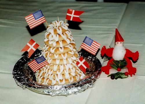 Sarasota - Kransekage at Danish Club Christmas Dinner | by roger4336