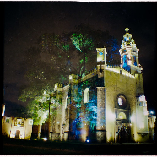 Templo de San Jerónimo Xayacatlán, Puebla. México.