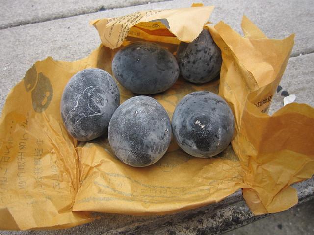 Hakone's Owakudani Black Egg 黒玉子