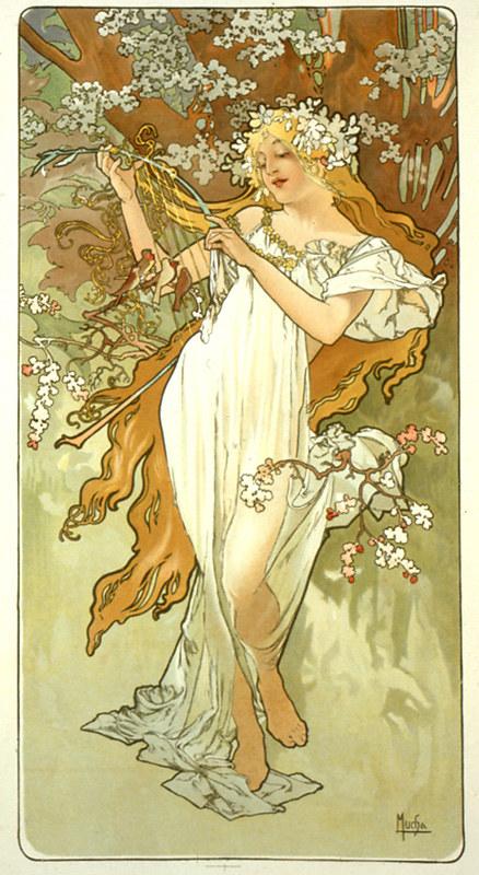 Mucha - Spring 1896