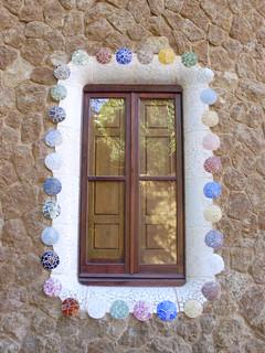 Parc Güell Mosaic window
