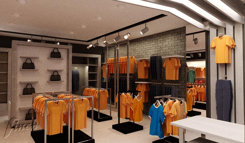 Modne ubrania aranżacja wnętrza sklepu odzieżowego w Rzeszowie | Więcej o … | Flickr TE06