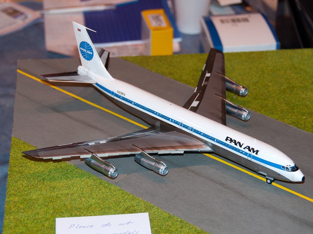 Authentic Airliners Boeing 707-320B resin model 1/144 scal… | Flickr