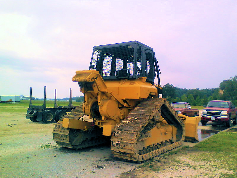 1999 CAT 517 Cable Skidder at Forestry First 003   1999 CAT