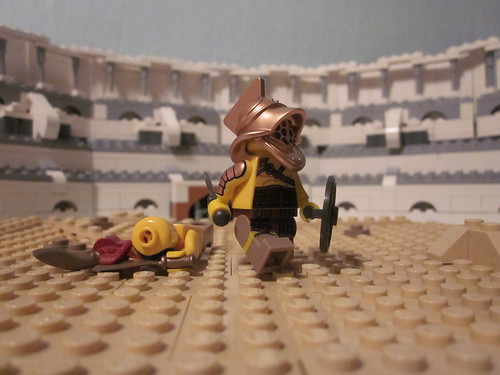 A Champion Emerges: A BrickArsenal Gladiator Contest Entry