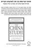 סקירת מחקר סין- שער