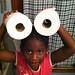 Silly Toilet Paper Head Girl September 20, 20111