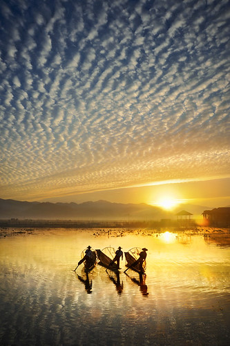 Fishermen at Sunrise | by David_Lazar
