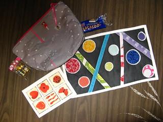 Goodie bag full of pretties from Katy!