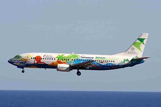 EC-INQ 2 Boeing 737-4Q8 Binter Canarias LPA 25JAN08
