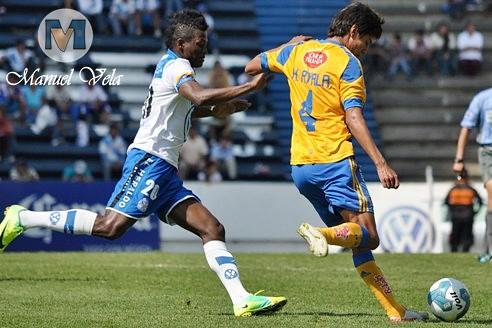 DSC_0260 Puebla FC cae 0-1 ante Tigres UANL y se queda fuera de la Liguilla partido disputado en el Estadio Cuauhtémoc por LAE Manuel Vela