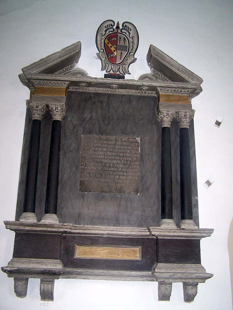 Www Ets Thomas Fr yorkshire, bugthorpe | here lyeth the body of sir edward pay