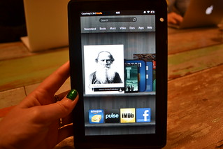 Kindle Fire | by Courtbean