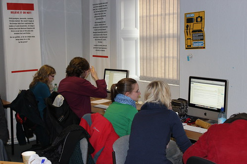 Our reporters writing their stories | by edinburghnapiernews