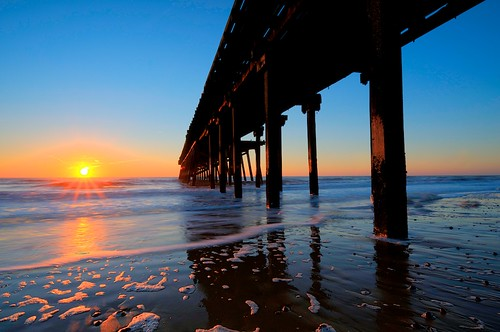 claremont pier sunrise | by bullettniko