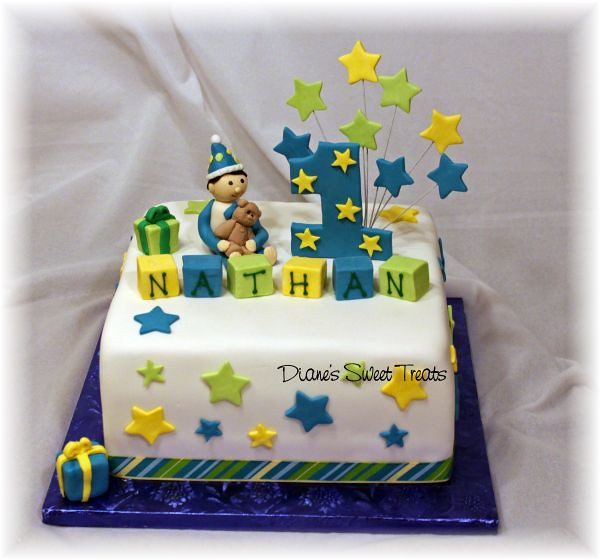 Surprising Nathans First Birthday Cake Little Boy Is Made From Sugar Flickr Funny Birthday Cards Online Kookostrdamsfinfo