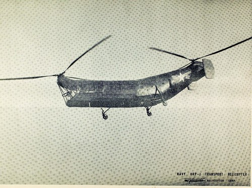 Navy HRP-1 transport helicopter - Piasecki NHHS Photo | by San Diego Air & Space Museum Archives