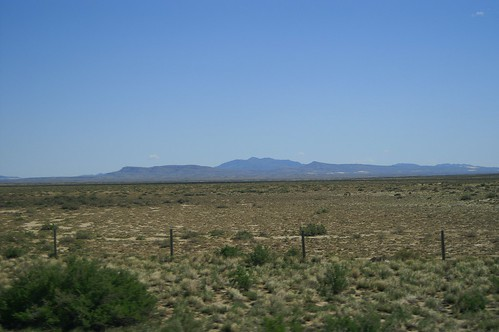 blue sky landscape lyrics view horizon roadtrip 2006 wyoming distance springsteenlyrics