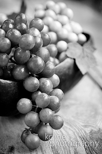 Grapes in Black & White | by kcline