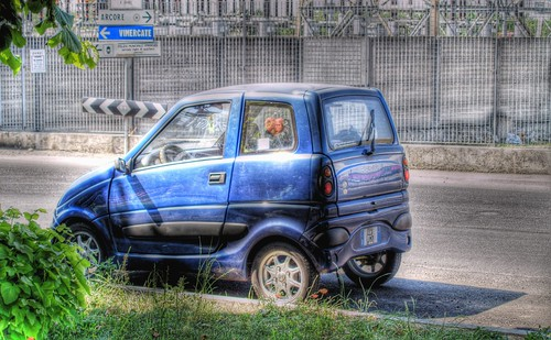 A minicar in wonderland