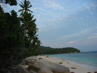 Beach shot on Pulau Tengah