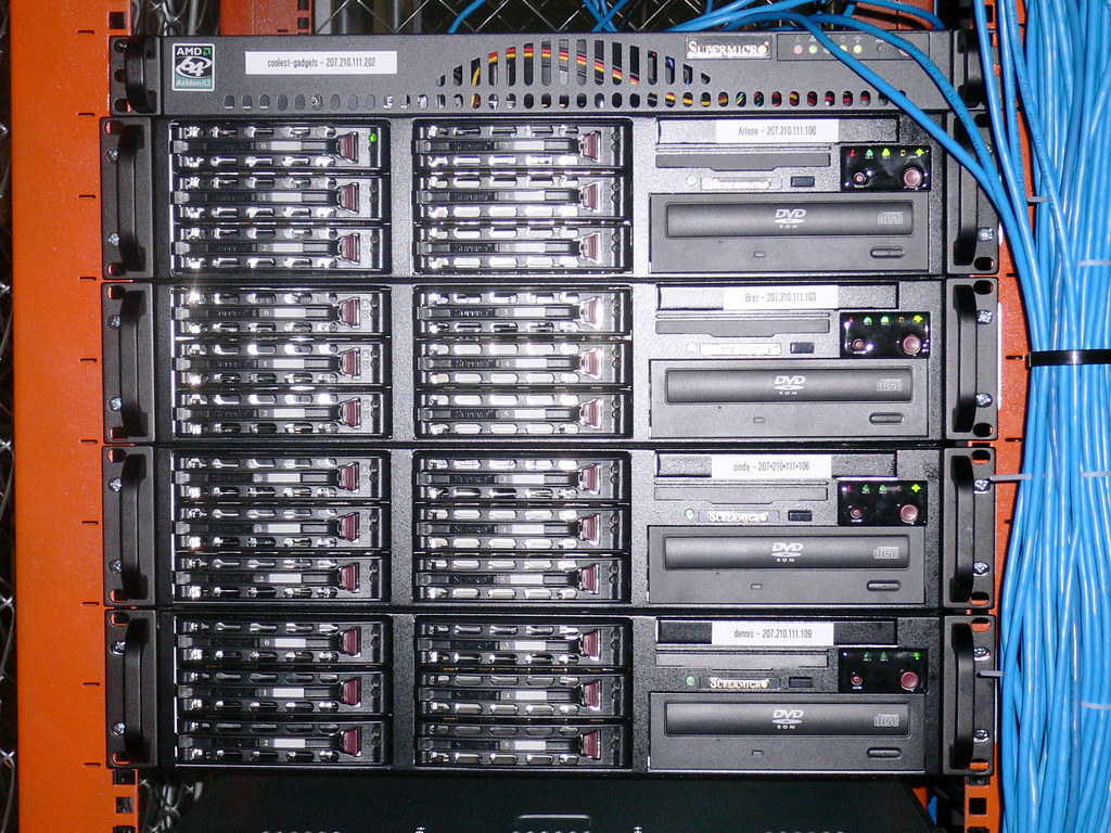 All the VPS servers