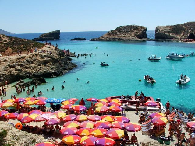 Malta Blue Lagoon Malta Entrata In Explore Il 24 Luglio