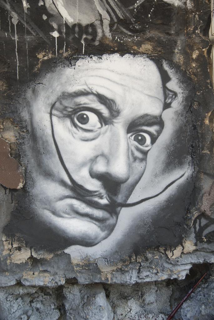 Salvador Dalí, painted portrait _DDC2561   Free download of …   Flickr