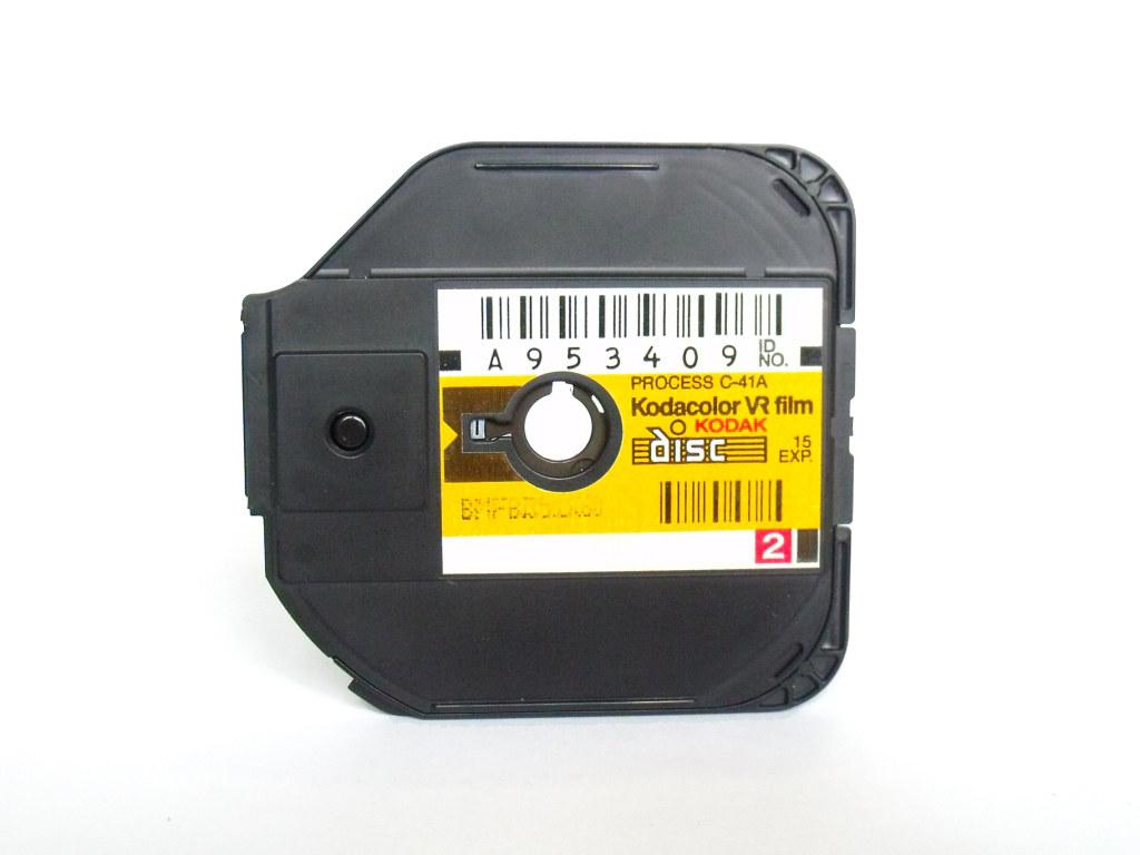 Kodak Kodacolor VR Disc Film Cartridge | This is a genuine K