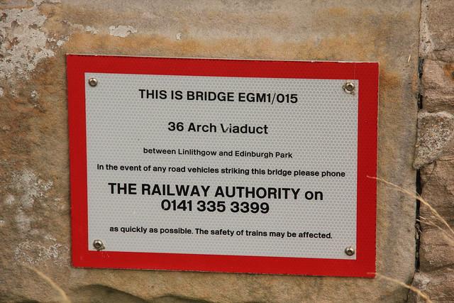 Almond Valley Viaduct, Edinburgh