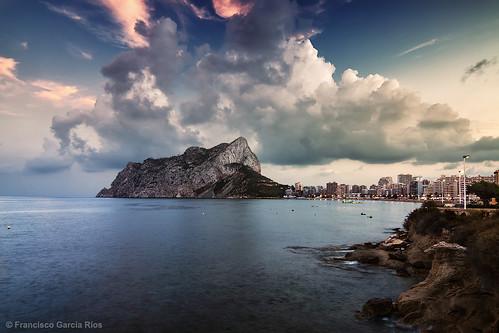 ifach peñón calpe costablanca alicante spain españa recesvintus mediterranean sea mar mediterráneo seascape landscape paisaje franciscogarcíaríos fadalba