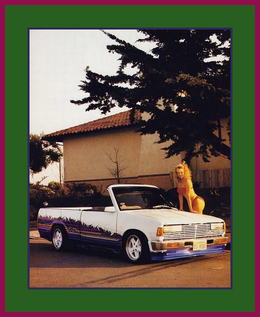 '86 Nissan Show Truck, 1990