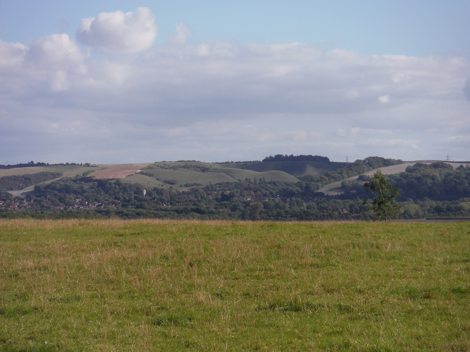 Barton Hills from outside Pulloxhill SWC Walk 230 Harlington to Flitwick