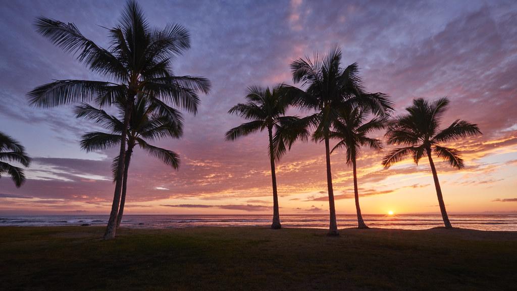 Maili Sunset 12OCT2015
