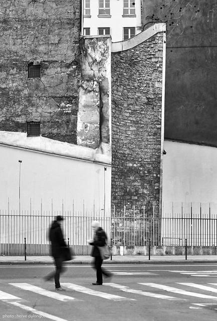 Parisian walls
