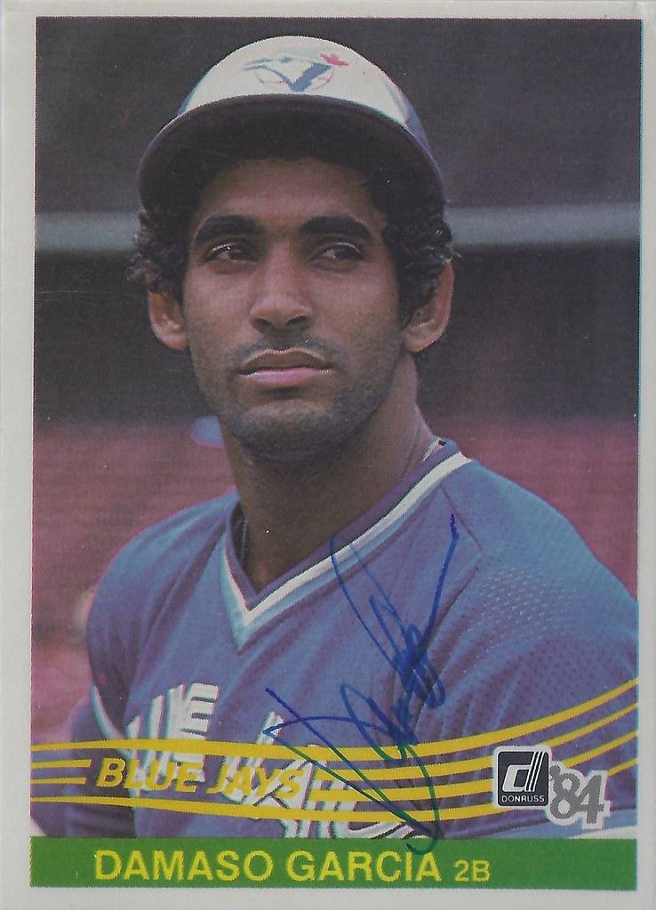 1984 Donruss Damaso Garcia 241 Second Baseman Autog Flickr