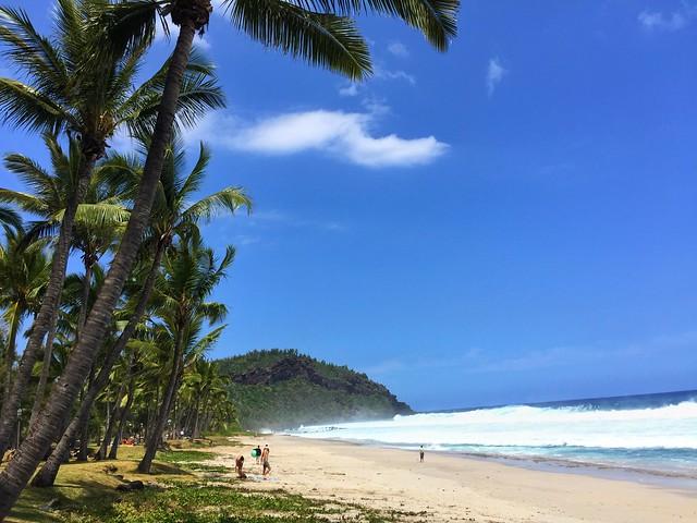 Playa en Isla Reunión