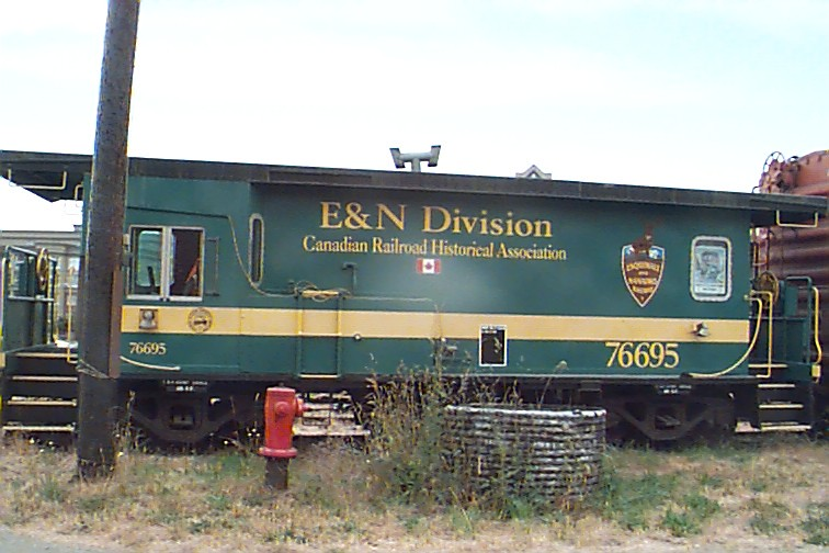 E&NCaboose vehicle graphics