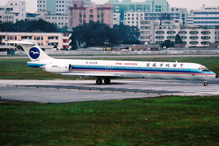 China Northern Airlines | McDonnell Douglas MD-82 | B-2128 | Guangzhou Baiyun (old) by Dennis HKG